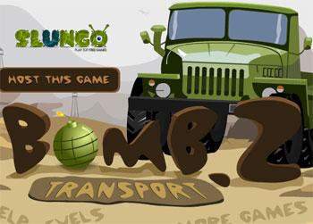 لعبة الشاحنة حاملة القنابل
