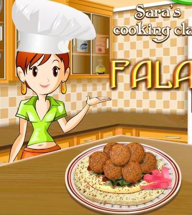 df0c936a1 لعبة تعليم البنات طبخ الفلافل مع سارة خطوة بخطوة