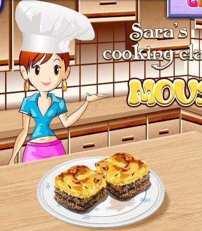 5030de9af لعبة تعليم البنات طبخ المسقعة مع سارة خطوة بخطوة