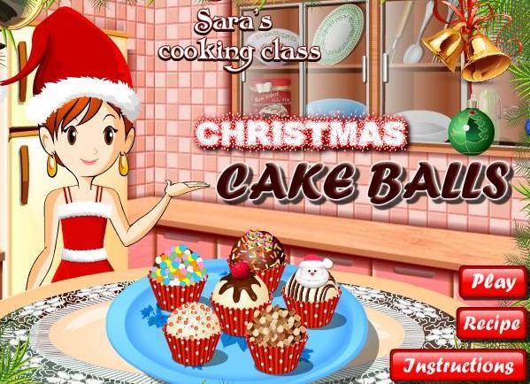 2f9239c77 لعبة تعليم البنات عمل كرات كيك عيد الميلاد مع سارة خطوة بخطوة