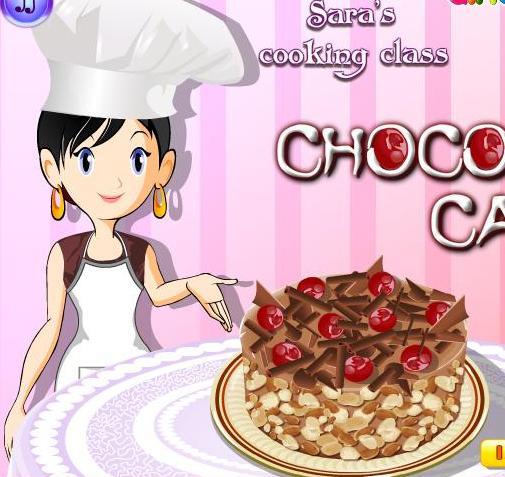ee605eb56 لعبة تعليم البنات طبخ كيكة الشوكولاتة مع سارة خطوة بخطوة