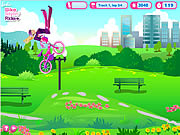 barbie bike stylin' ride a game flash free online for girls