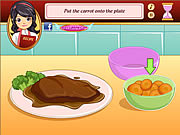 how to make chicken teriyaki girls cooking game