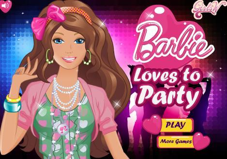 بنات تلبيس باربي 2012 | barbie loves to party dress up
