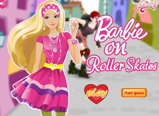 لعبة تلبيس باربي 2012 | barbie on roller skates dress up