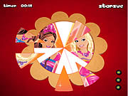 barbie fantasy tale round puzzle a game flash free online for girls
