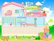 barbie games house