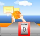 تسديد كرة السلة