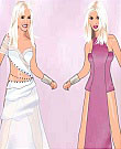 christina and britney Dress up Game