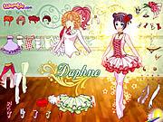 لعبة تلبيس دوفني | daphne dress up