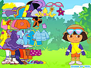 game dress up dora the explorer