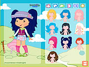 لعبة تلبيس dress up strawberry shortcake