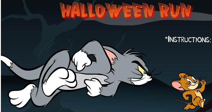 لعبة توم وجيري halloween run tom and jerry game