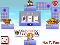 لعبة حكم السبيت | hearts card game