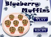 لعبة طبخ خبز الكعك | how to bake blueberry muffin