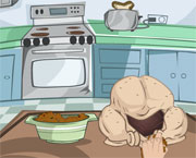 لعبة طبخ الديك الرومي | how to cook turkey