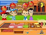 لعبة طبخ برجر الرومي | how to make turkey burger cooking