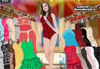 لعبة تلبيس ملكة جمال استراليا | miss australia laura dundovic fashion dresses