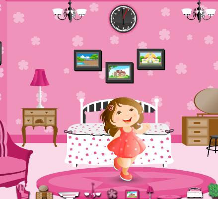 Barbie princ room game online