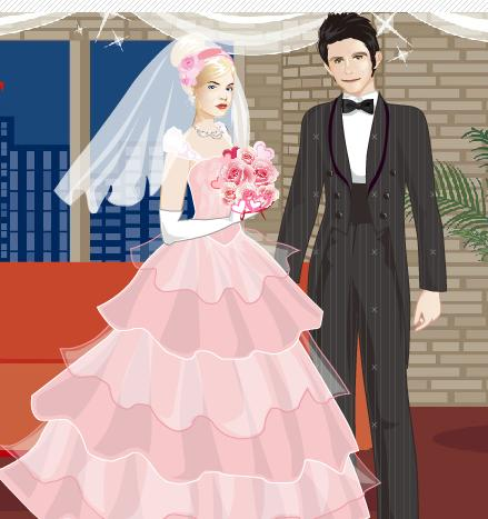 2012 | newlywed wedding dress up game, al3ab talbis banat