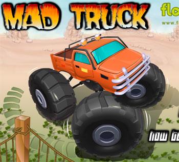 لعبة الشاحنة المجنونة