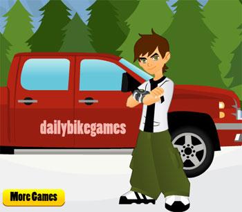 لعبة شاحنة ben 10