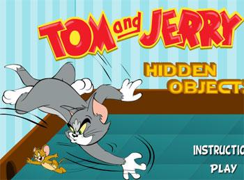 لعبة الأشياء المخفية في صور توم وجيري
