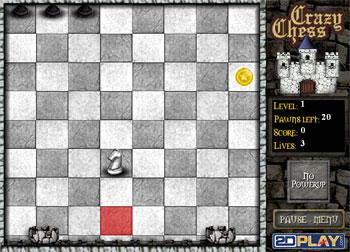لعبة الشطرنج المجنونة