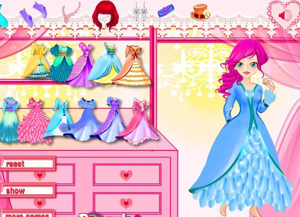 الاميرة 2012 | princess dinner dress up game, al3ab talbis