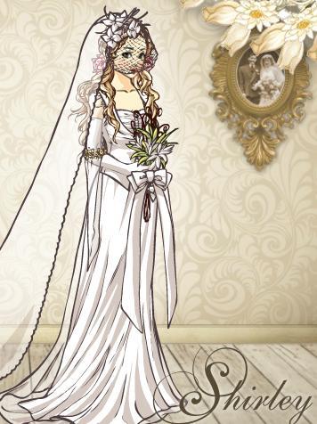 لعبة تلبيس العرائس 2012 | shirley shochzei wedding