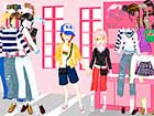 shopping in love dress up girls game