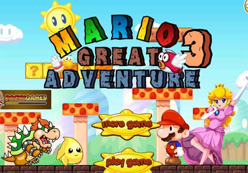 العب لعبة super mario great adventure 3