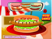decor your hot dog game for girls free