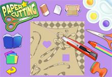 العب لعبة رسم قص ولصق