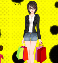back from shopping a game funny for girls free