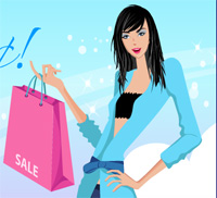 go shopping a game for girls free