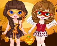 halloween costume shopping a game funny for girls free