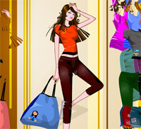 shopping cool and comfortable in summer a game funny for girls free