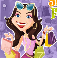 shopping frenzy a game funny for girls free