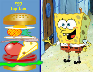 the sponge bob game burger bonanza online for kids