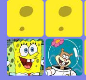 the sponge bob game memory online for kids