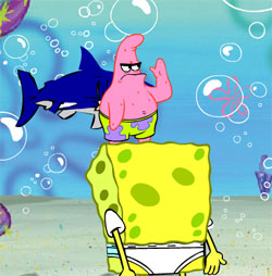 a spongebob game sea shells online free
