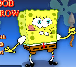 a spongebob game stone arrow online free
