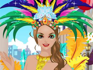 beautiful carnival girl dress up game 2013
