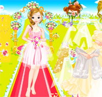 the wedding game dress up for beautiful bride free online