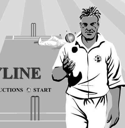 free online bodyline cricket game