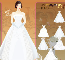 the wedding game butterfly princess bride dresses free online ...
