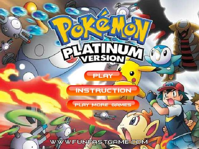 pokemon platinum memory game