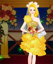 the wedding game candlelit wedding dress up free online