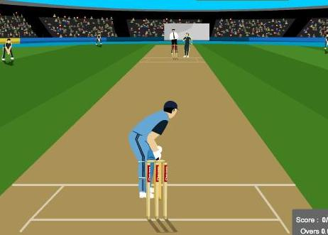 free online cricket master blaster game